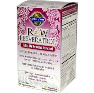 Resveratrol Garden of Life RAW 350 mg 60 caps