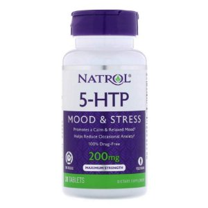 5-HTP Natrol Timed Release 200mg 30 caps