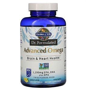 Omega 3 Garden of Life Dr. Formulated Advanced Limão 180 Softgel
