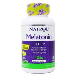 Melatonin Natrol Dissolve Rápido 10 mG 100 Tablets