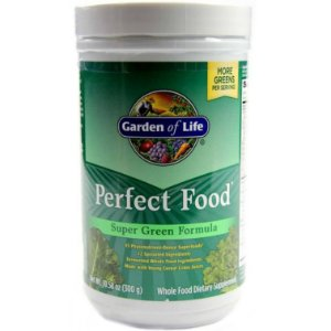 Alimento Verde Garden of Life Perfect Food 300 Gramas