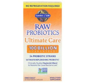Probiótico Garden of Life RAW Ultimate Care 30 Caps