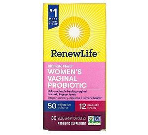 Probiótico Renew Life Women Vaginal 50 Bilhões 30 caps