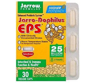 Probiótico Jarrow Jarro-Dophilus EPS 25 Bilhões 30 caps