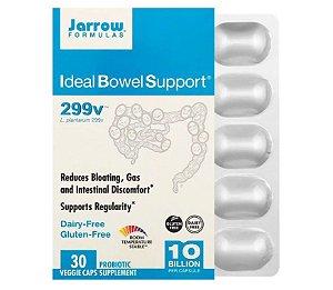Probiótico Jarrow Ideal Bowel Support 299v 10 Bilhões 30 caps