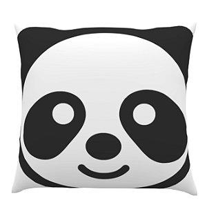 Almofada Preta e Branca Panda - Ultradigi