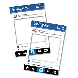 Placa de Instagram