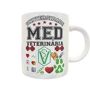 Caneca Universidade Medicina Veterinária