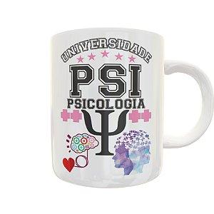 Caneca Universidade Psicologia