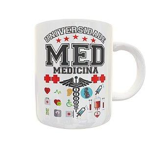 Caneca Universidade Medicina