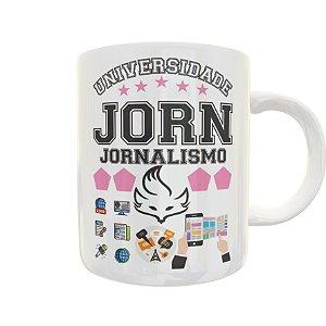 Caneca Universidade Jornalismo
