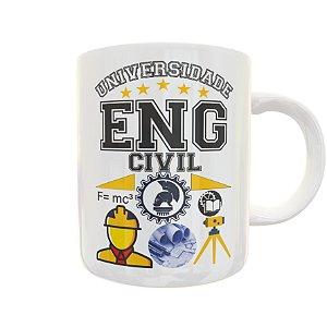 Caneca Universidade Engenharia Civil