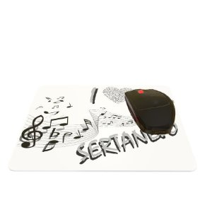 Mouse Pad I Love Sertanejo