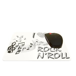 Mouse Pad I Love Rock N' Roll