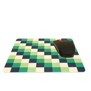 Mouse Pad Colorido Abstrato Pixels