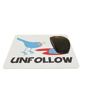 Mouse Pad Colorido Unfollow