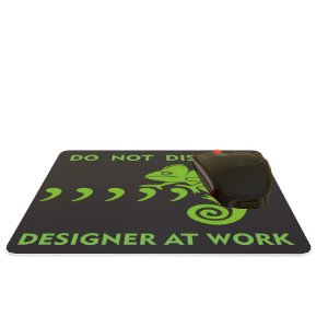 Mouse Pad Colorido Do Not Disturb