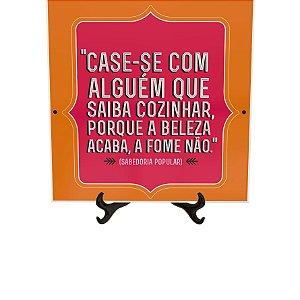 Azulejo Decorativo Case-se Com Alguém 15x15cm