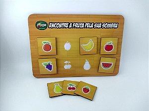 Jogo das Sombras - Frutas