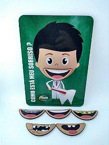 Kit de 4 Jogos para odontopediatria