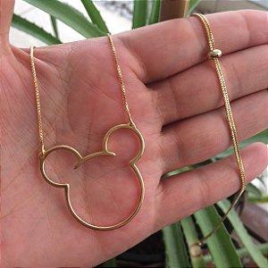 Colar Mickey semijoia