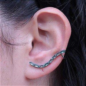 Ear Cuff delicado com zircônia Turmalina Paraíba