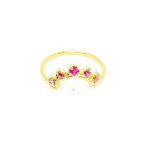 Anel Queen Be Pink