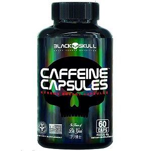 Caffeine Capsules para pré-treino Black Skull - 60 Cápsulas