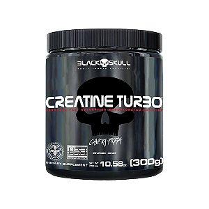 Creatina Turbo 300g - Black Skull Caveira Preta