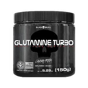 Glutamina Turbo Black Skull - Caveira Preta 150g
