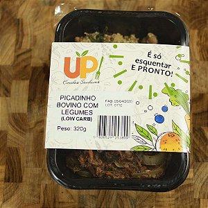 Comida Congelada Caseira - Picadinho Bovino com Legumes 320g