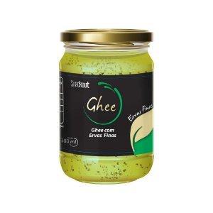Manteiga Ghee com Ervas Finas (180ml) Snackout