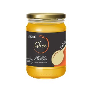Manteiga Ghee Tradicional (180ml) Snackout