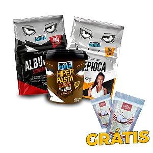Combo Proteína Pura - Grátis Chips de Coco Defumado