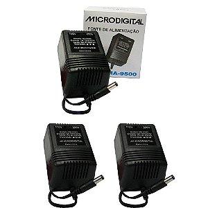 Kit 3 Fontes para Pedaleira MA-9500 Bivolt Automática