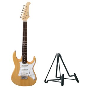 Kit Guitarra TEG-310 Natural Thomaz + Suporte de Chão Konig & Meyer