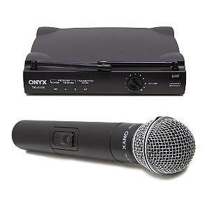 Microfone Sem Fio TK-U120 UHF Onyx
