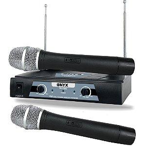 Microfone Sem Fio TK-V202 VHF Onyx