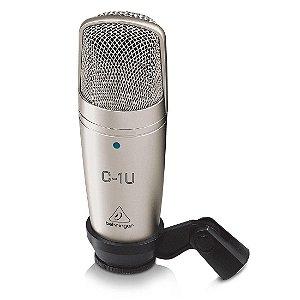 Behringer C1U | Microfone Condensador com USB