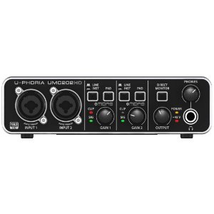 Behringer UMC202HD | Interface de Áudio HD