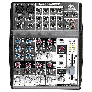 Behringer XENYX 1002 | Mixer 10 Canais (110V)