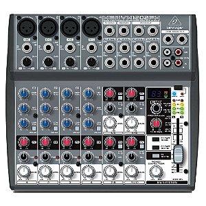 Behringer XENYX 1202FX | Mixer 12 Canais com Efeitos