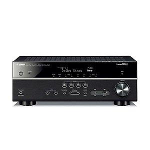 Yamaha RX-V585 | Receiver 7.2-canais Com Zona 2 E Wifi
