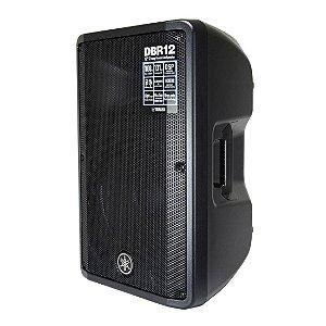Yamaha DBR12 | Caixa Ativa 12 Bi-amplificada Com Dsp