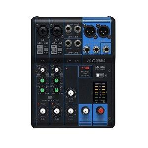 Yamaha Mg06 | Mesa De Som 6 Canais