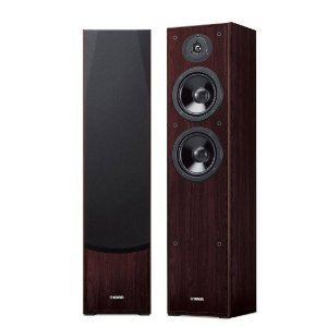 YAMAHA NS-51F WN | Caixa Torre de Home Theater (Par)