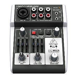 Behringer XENYX 302USB | Mixer 3 Canais com USB