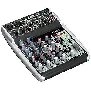 Behringer XENYX Q1002USB | Mixer 10 Canais com USB