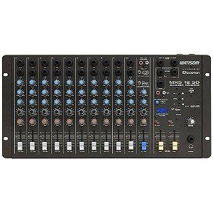 Ciclotron MXS 12 SD | Mesa de Som 12 Canais com USB