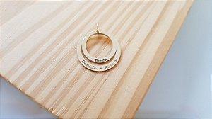 Pingente Mandala 2 elos (Pequeno)